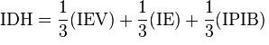 formula IDH