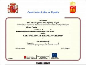 Certificado Profesionalidad
