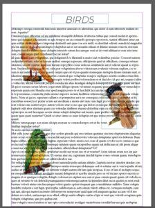 Adobe indesignn ceñir texto