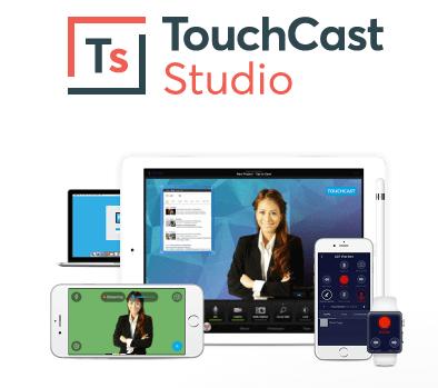 uso de tabletas en el aula TouchCast