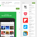 feedly lector RSS