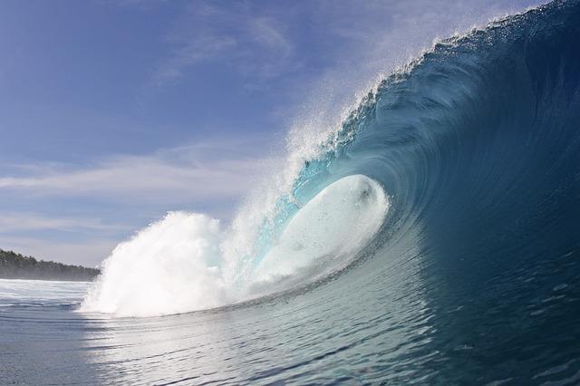 La energía de las olas es una industria en desarrollo