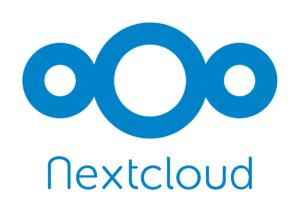 nextcloud logo aplicaciones de cloud computing linux