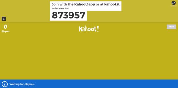 kahoot-código