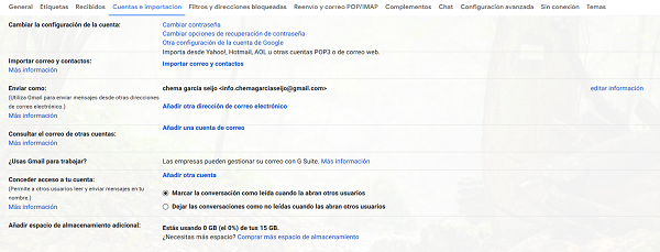 configurar correo gmail