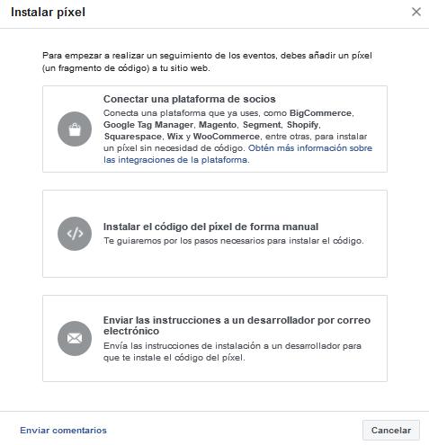 opciones_instalar_pixel_facebook