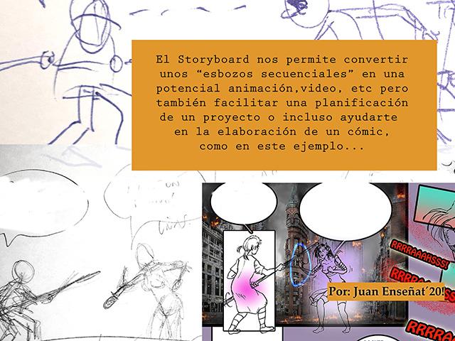 que es un storyboard: esbozos para planificar