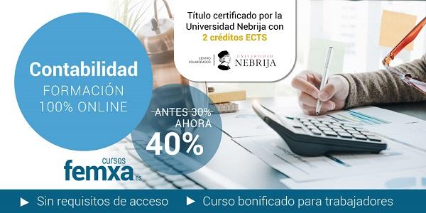 acceso a curso de contabilidad sin requisitos de acceso