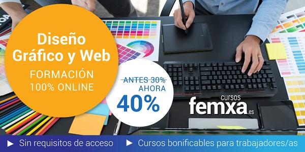 cursos online privados de diseño gráfico y diseño web